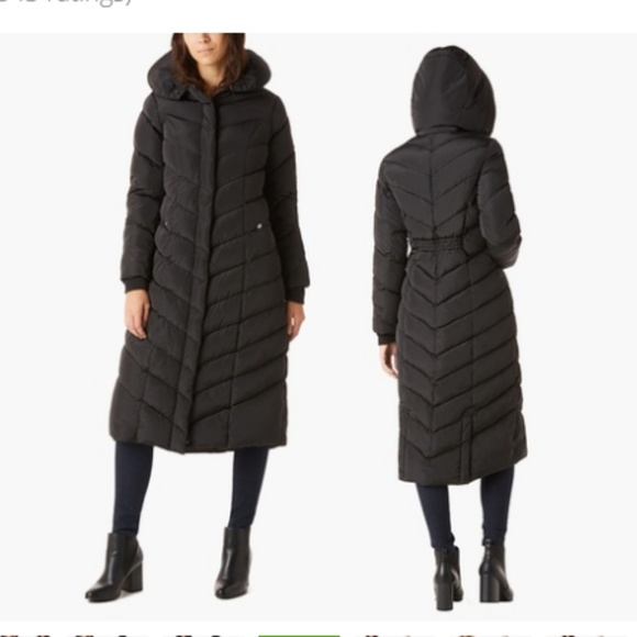 8345333ea Steve madden long coat with hoodie NWT